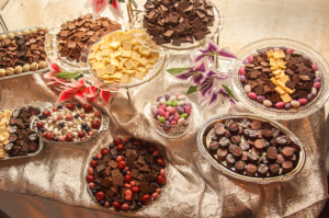 chocolates for weddings, events