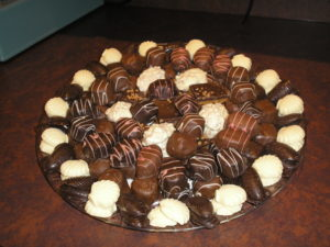 chocolate party plates hampton roads