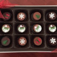 christmas truffles box