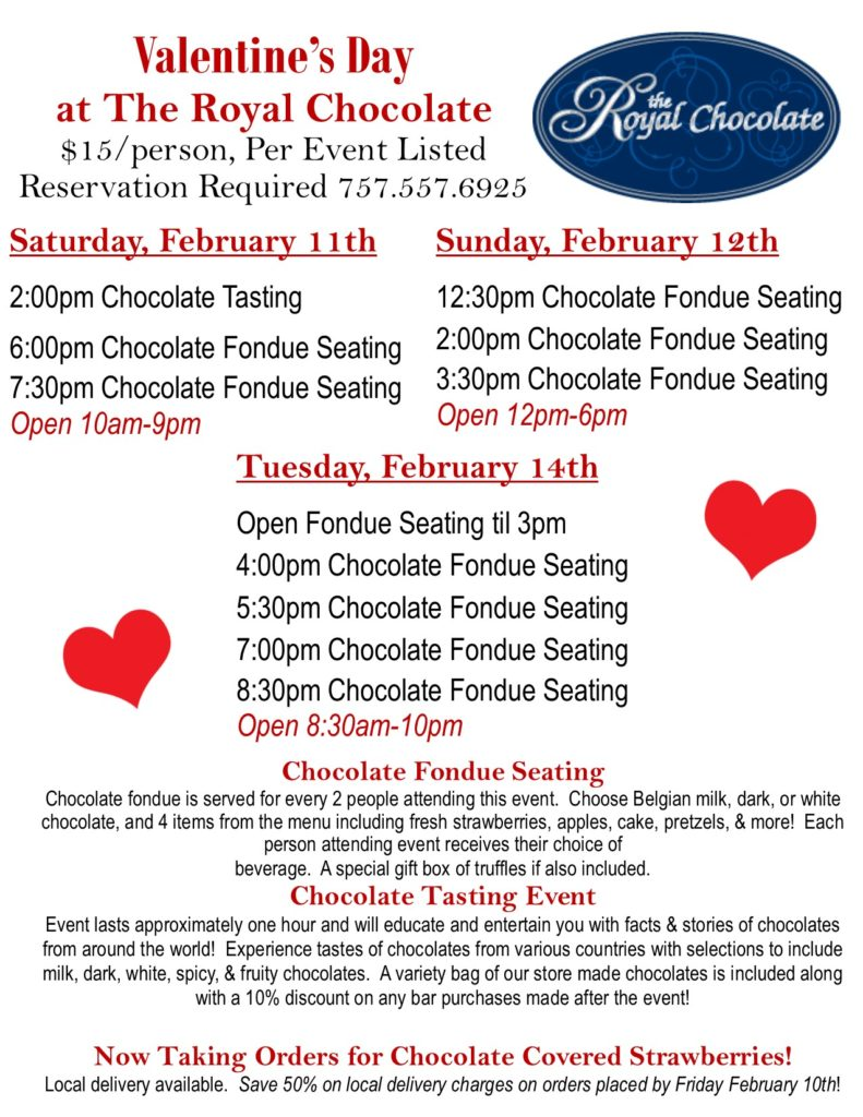 Valentine's Day Chocolate TastingCCM