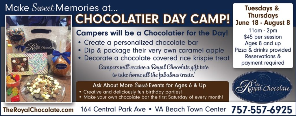 make your own chocolate bar virginia beach